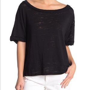 Free People Tops - NEW Free People T-Shirt Open Back